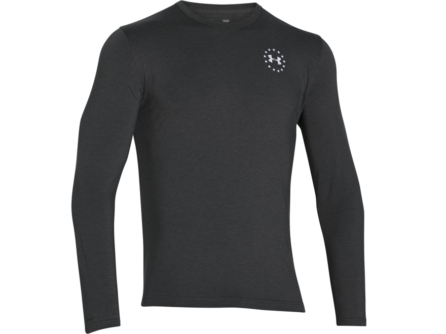 Under Armour Men's UA Freedom Flag Shirt Long Sleeve Cotton and Polyester