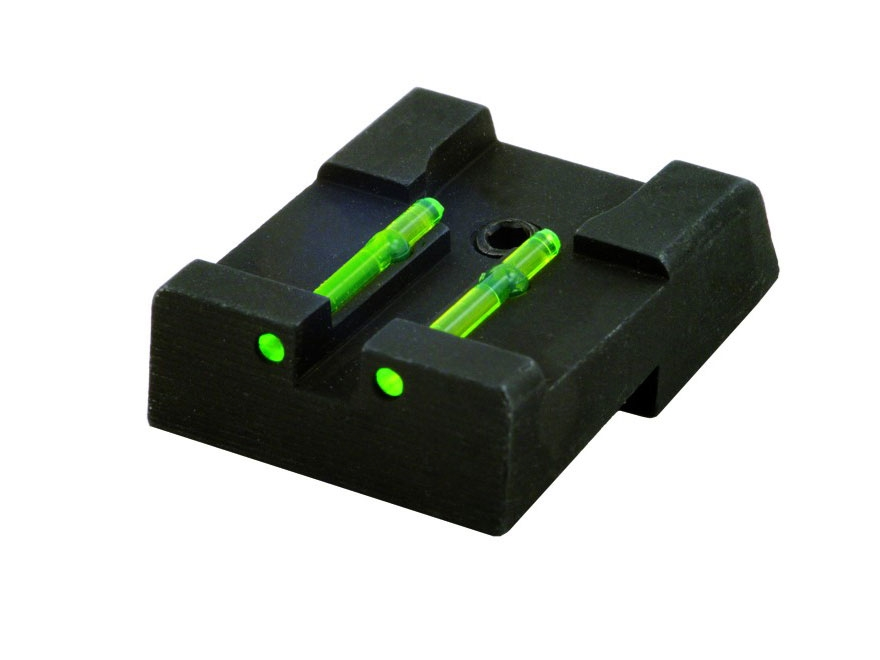 HIVIZ Rear Sight Taurus PT 1911 Steel Fiber Optic