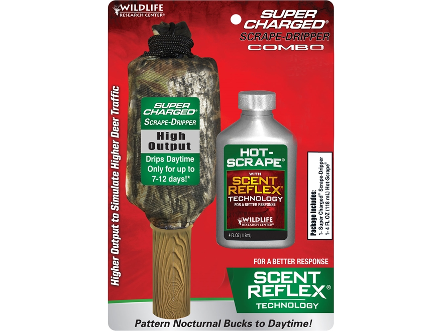 Wildlife Research Center Super Charged Scrape Dripper Hot-Scrape Synthetic Deer Scent C...