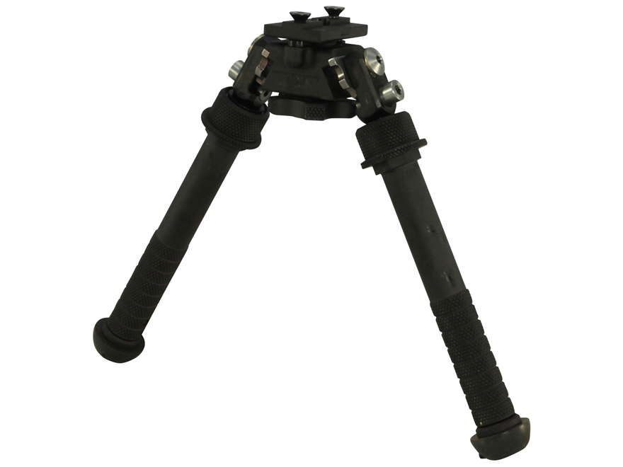 Atlas BT46-NC PSR Bipod No Clamp Style Mount Aluminum Black