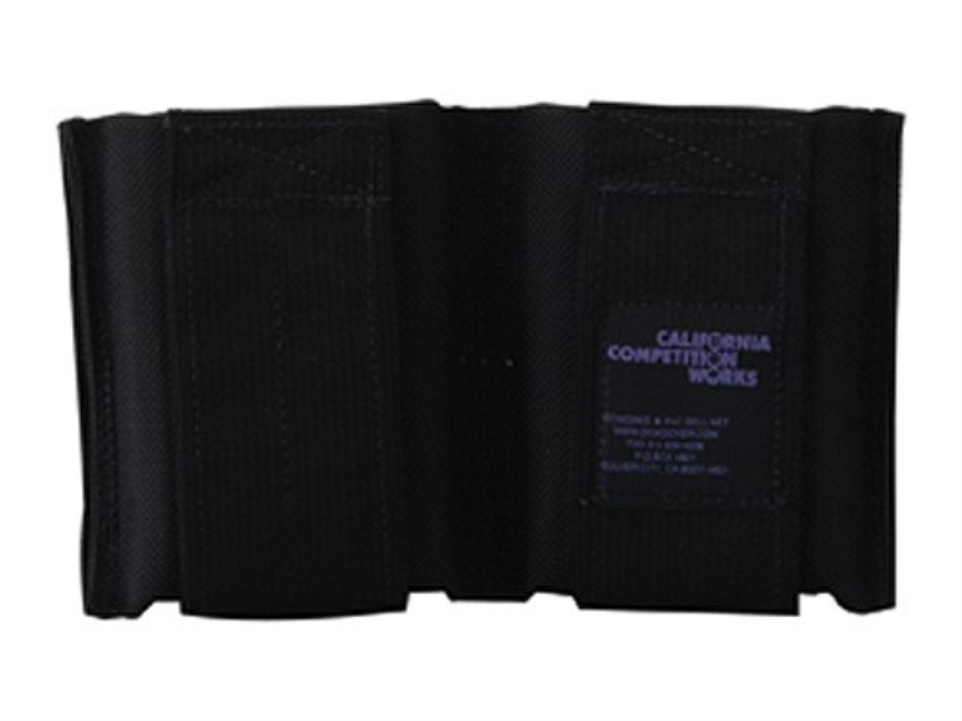 California Competition Works Double Magazine Pouch AR-15 30 Round Nylon Black