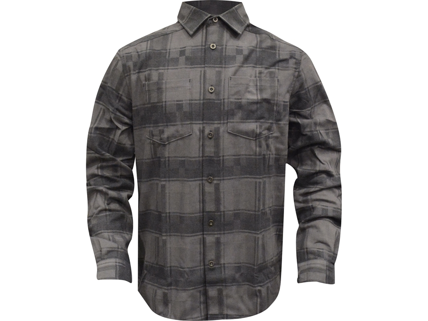 Under Armour Men's UA Borderland STR Flannel Shirt Long Sleeve Charged Cotton