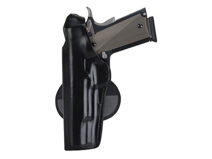 Bianchi 59 Special Agent Holster Left Hand S&W 4006 TSW, 5906 TSW Leather Black