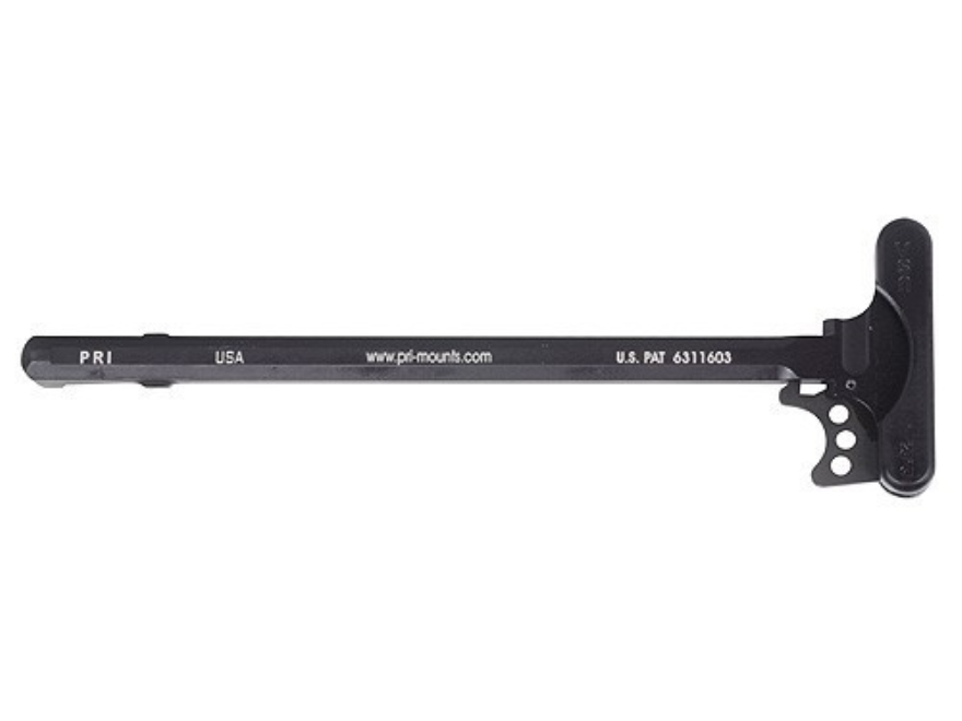 PRI Gas Buster with Flat Latch Charging Handle Assembly AR-10, LR-308 Aluminum Matte