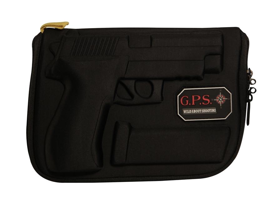 G.P.S. Custom Molded Pistol Case Sig Sauer P226, P228, P220, P229, SP2022 Black