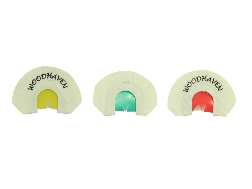 Woodhaven Small Frame 3 Pack Diaphragm Turkey Call Combo