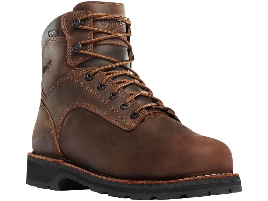 """Danner Workman 6"""" Waterproof Aluminum Toe Work Boots Leather Men's"""