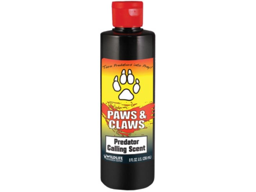 Wildlife Research Paws & Claws Predator Attractant Liquid 8 oz
