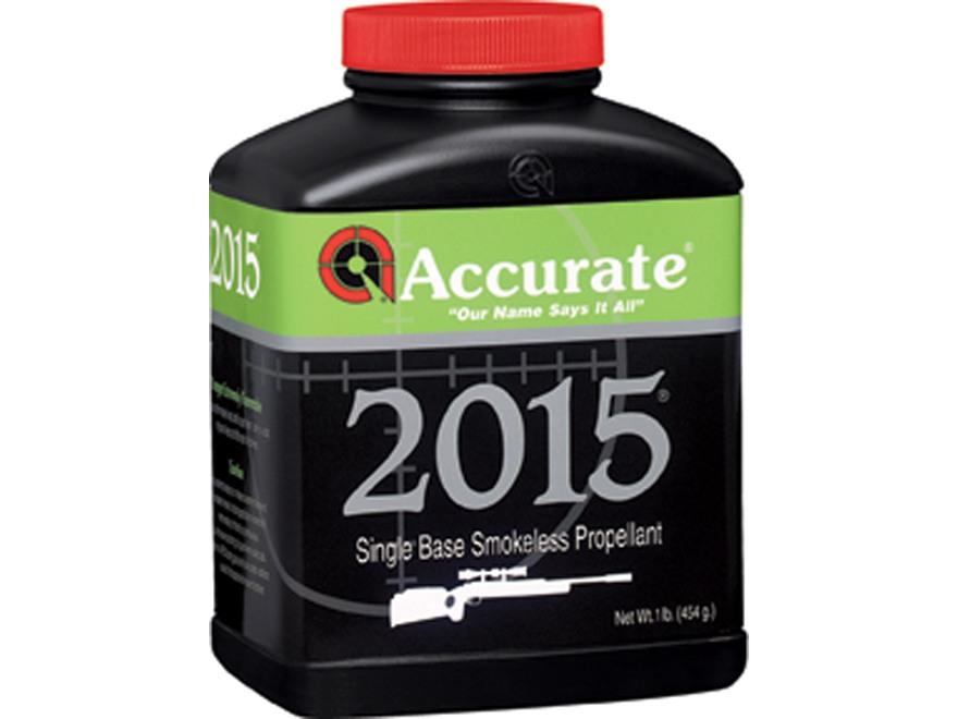 Accurate 2015 Smokeless Powder