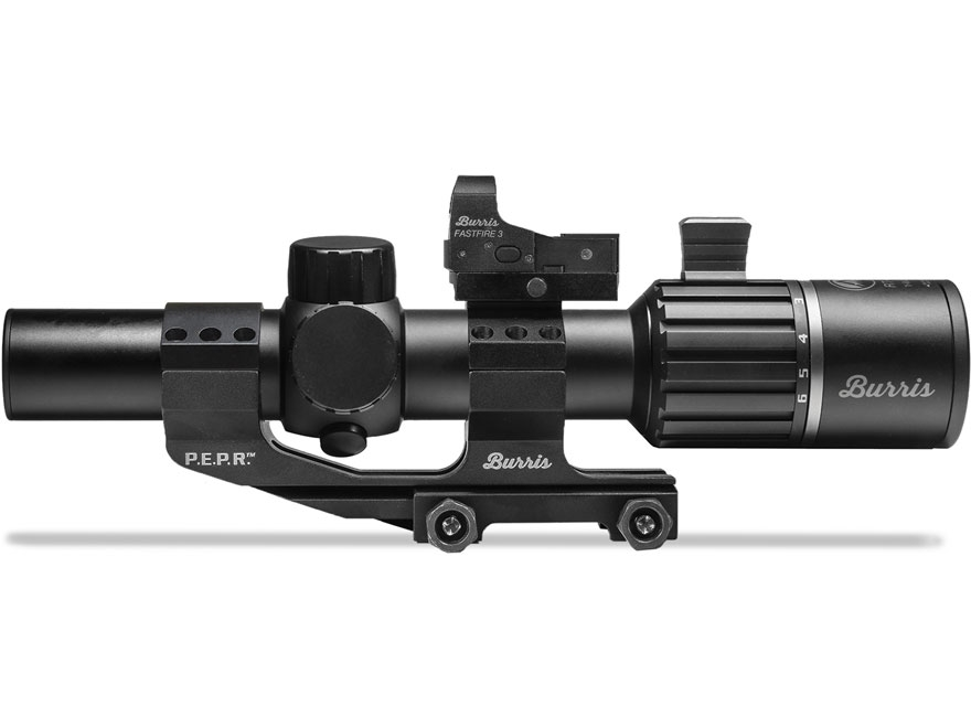 Burris RT6 Rifle Scope 30mm Tube 1-6x 24mm Illuminated Ballistic AR Reticle Matte with ...