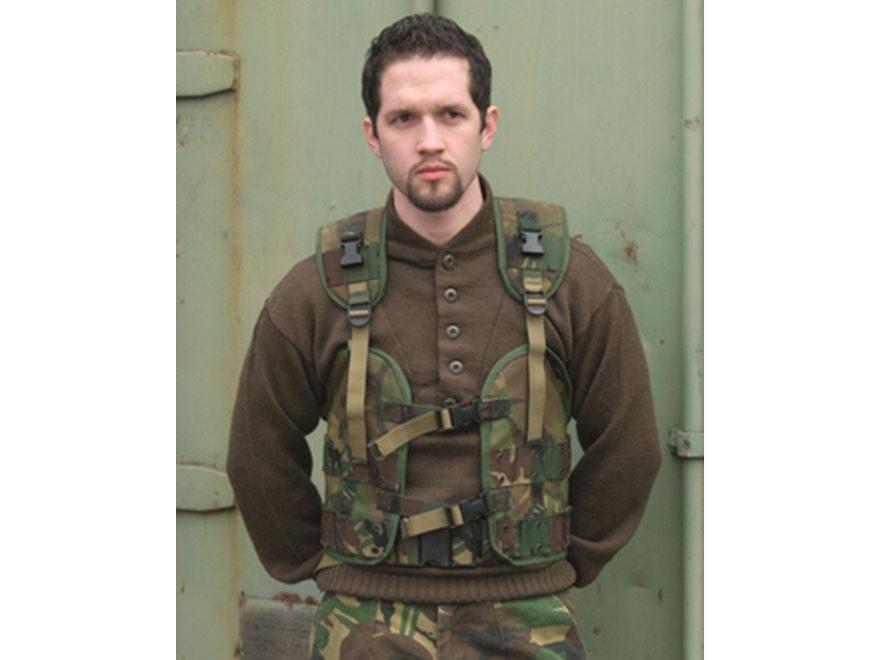 Military Surplus Dutch Load Bearing Vest Grade 2 Camo