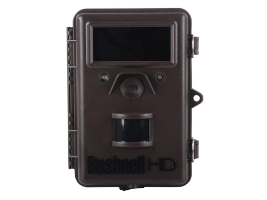 Bushnell Trophy Cam HD Max Black Flash Infrared Game Camera 8.0 Megapixel with Viewing ...