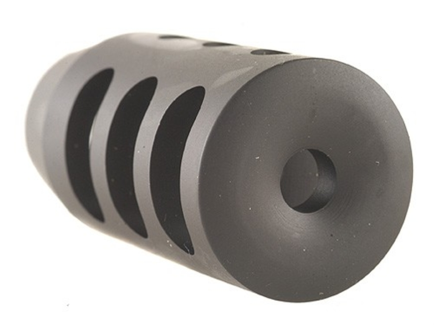 "Holland's Quick Discharge Muzzle Brake 3/4""-28 Thread .775""-.850"" Barrel Tapered Chrome..."