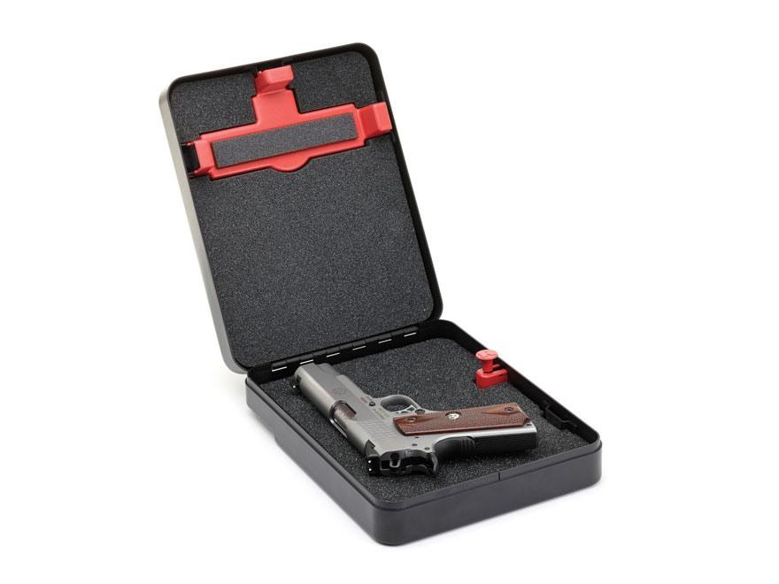 Hornady Shackle Box Pistol Security Box Steel Black