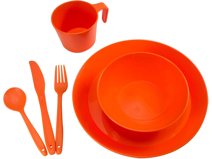 UST Packware Dish Set Orange