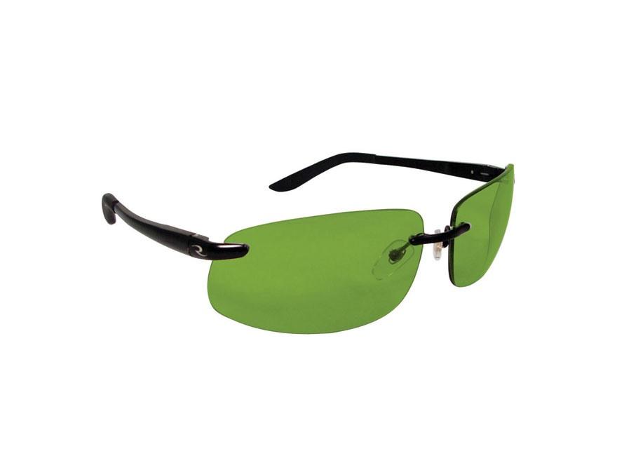 Radians Eclipse Polarized Shooting Glasses Green Lens