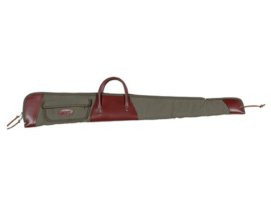 Boyt Boundary Lakes Shotgun Gun Case with Pocket Canvas and Leather