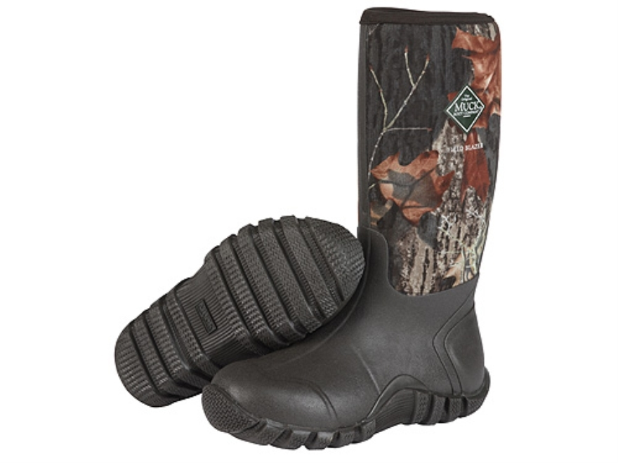 "Muck FieldBlazer 15.5"" Waterproof Insulated Hunting Boots Rubber and Nylon Mossy Oak Br..."