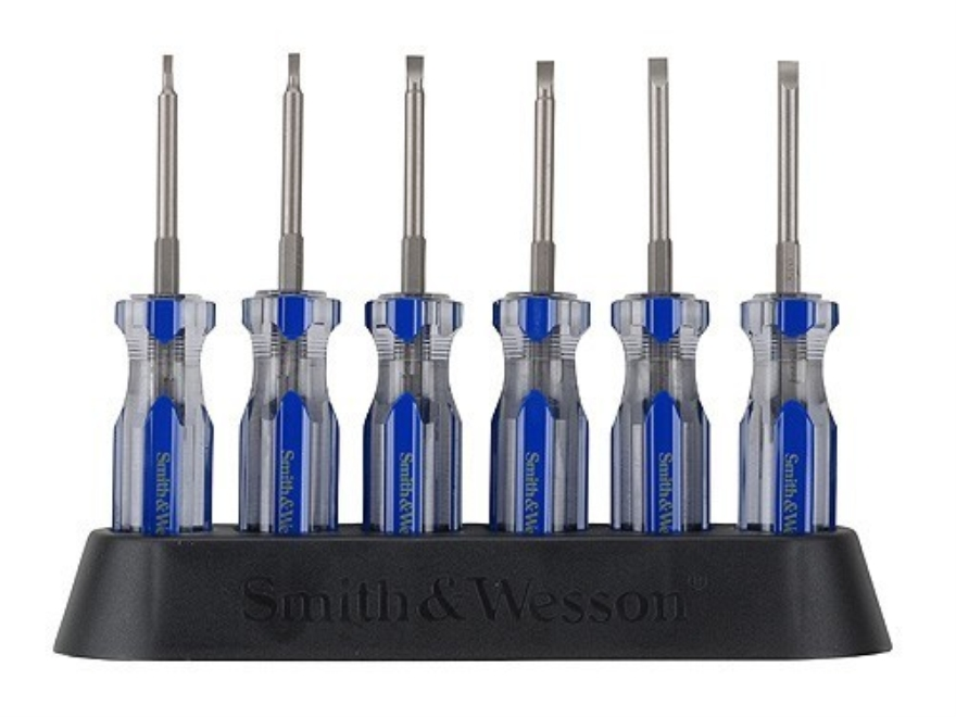 smith wesson gunsmithing screwdriver set 6 piece steel mpn sw1015. Black Bedroom Furniture Sets. Home Design Ideas