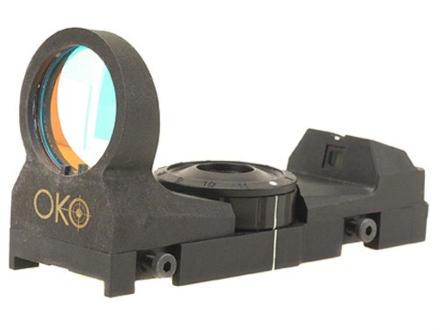 STI-OKO Red Dot Sight 4 MOA Red Dot Reticle Black