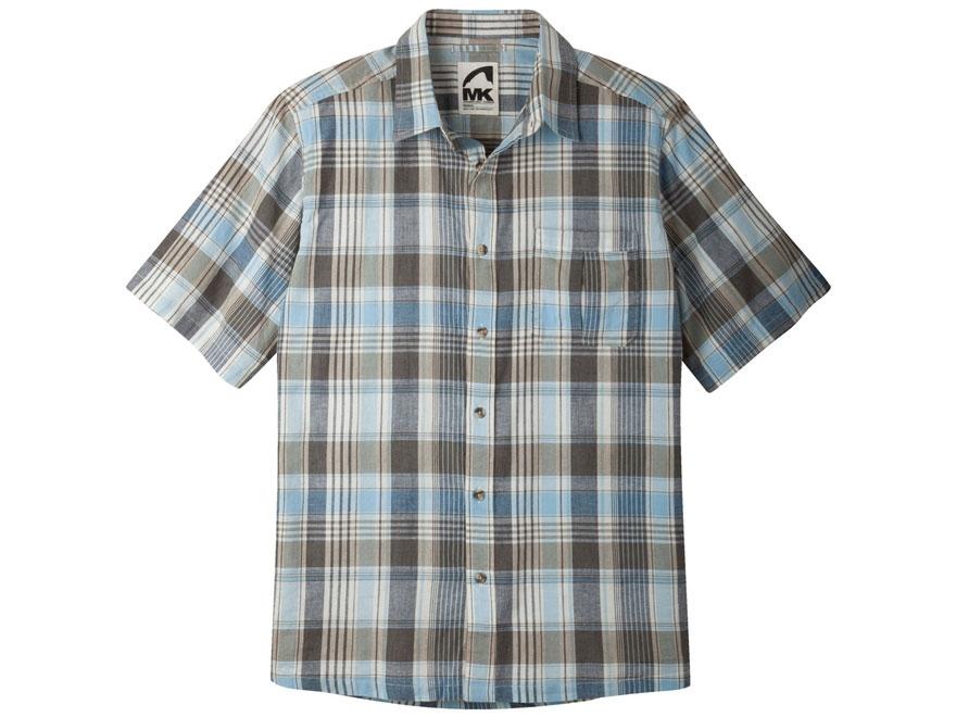Mountain khakis men 39 s tomahawk madras shirt short mpn for Mens madras shirt sale