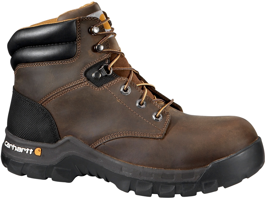 "Carhartt Rugged Flex 6"" Work Boots Leather"