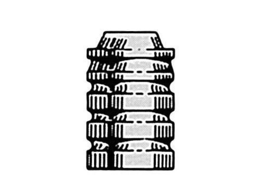 Saeco Bullet Mold #323 32 Caliber (313 Diameter) 95 Grain Wadcutter