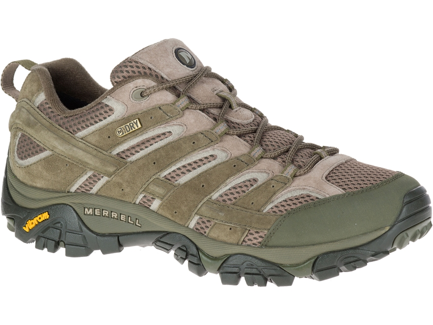 "Merrell Moab 2 Low 4"" Waterproof Hiking Shoes Leather/Synthetic"