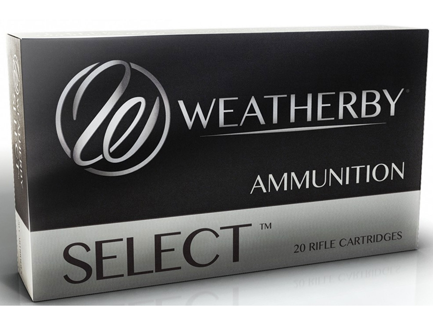 Weatherby Select Ammunition 257 Weatherby Magnum 100 Grain Norma Spitzer Box of 20