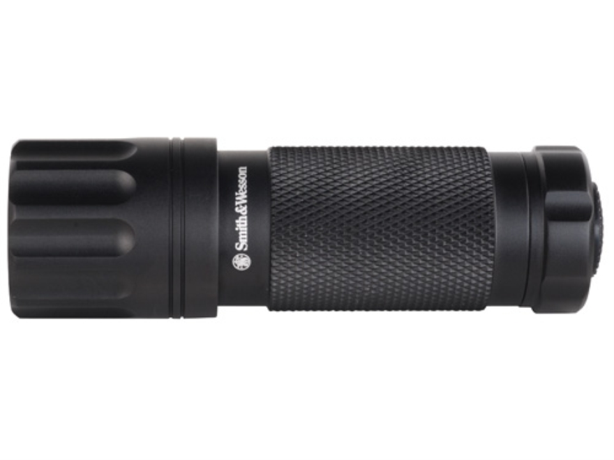 Smith & Wesson Galaxy 9 Flashlight LED with 3 AAA Batteries Aluminum Black