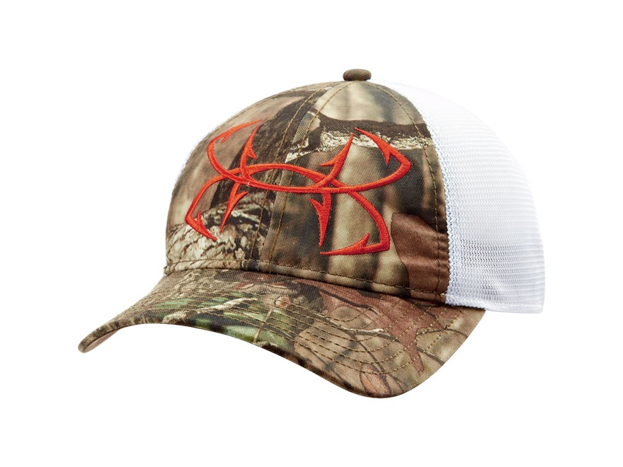 Under armour ua camo fish hook mesh cap polyester mpn for Under armour fish hook hat