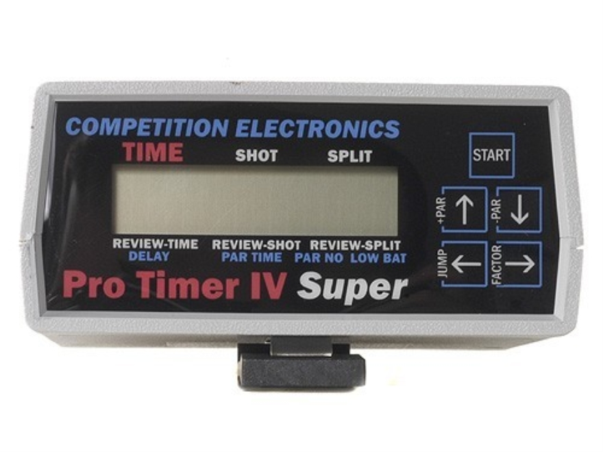 Competition Electronics Pro Shot Timer 4 Super