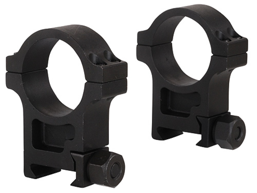 Trijicon 30mm Accupoint Steel Picatinny-Style Rings Matte Extra High