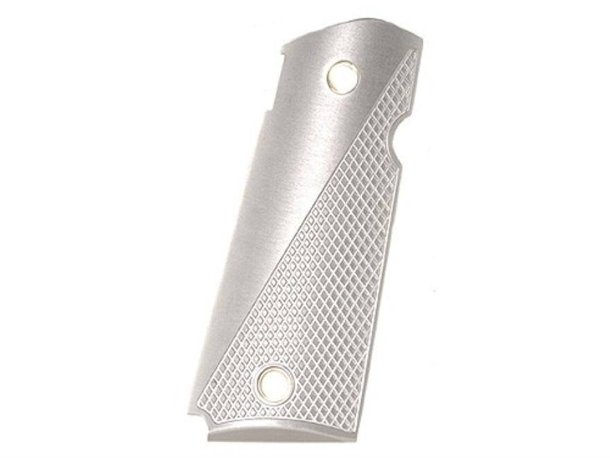 AlumaGrips Slim Line Grips 1911 Officer Tactical Cut for Ambidextrous Thumb Safety Alum...