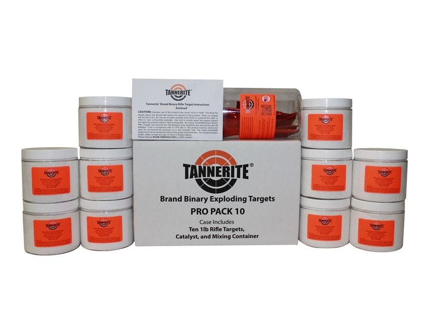 Tannerite Exploding Rifle Target ProPak 10 Includes Ten 1 lb Targets