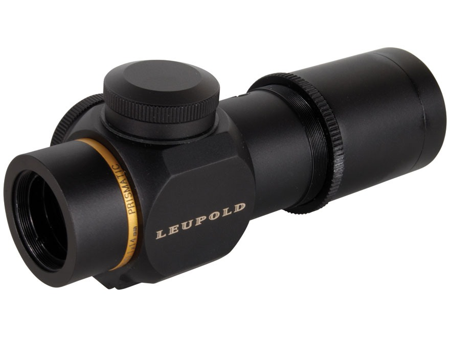 Leupold Prismatic Hunting Rifle Scope 30mm Tube 1x 14mm Illuminated Double Circle Dot R...