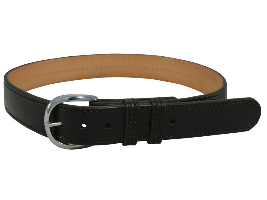 "Comp-Tac Kydex Reinforced Contour Belt 1-1/2"" Buckle Plain Leather"