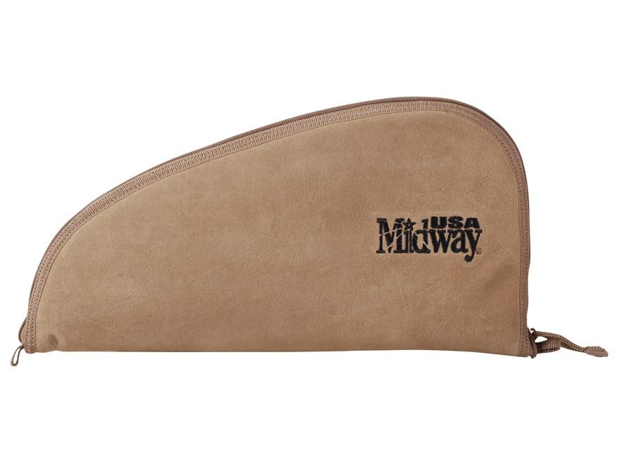 MidwayUSA Pistol Case Suede