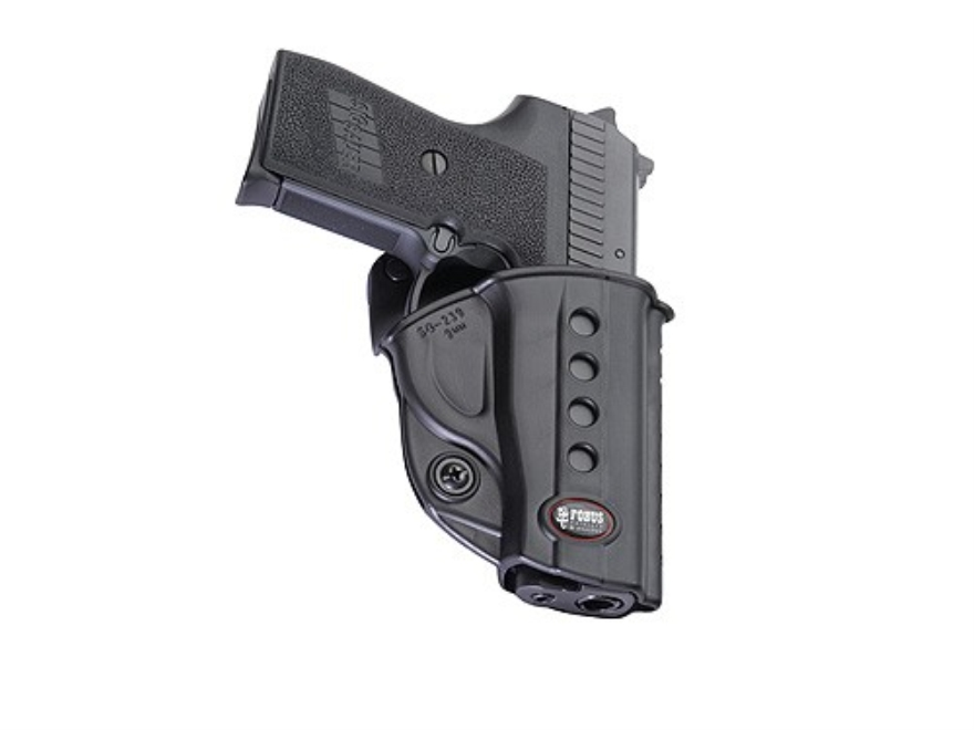 Fobus Evolution Belt Holster Right Hand Sig Sauer P239 9mm, S&W Sigma 380, SW380, SW9 P...