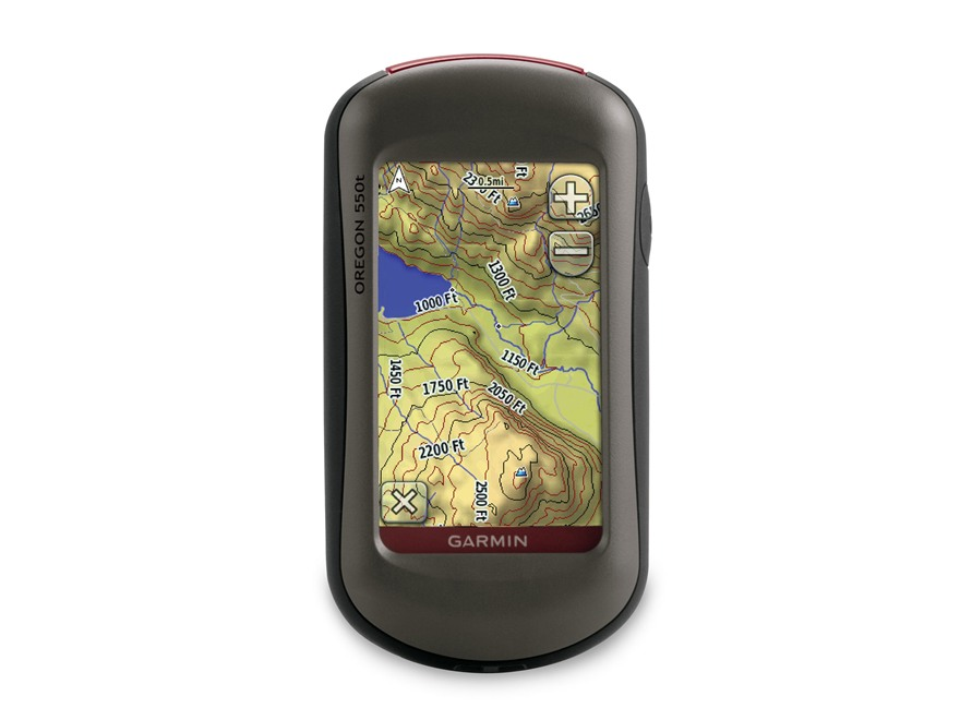 Garmin Oregon 550t Handheld GPS Unit