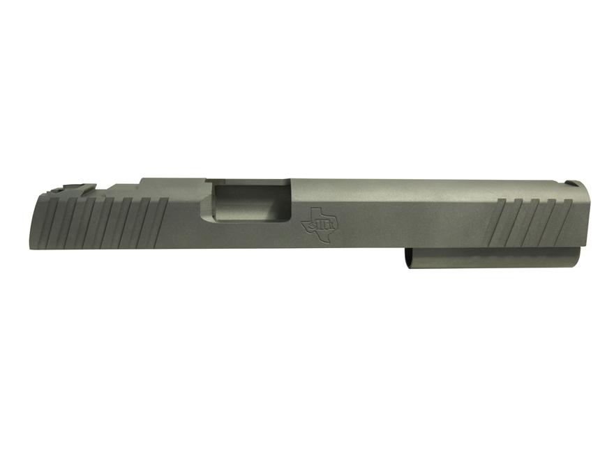 """STI Perfect 10 Slide 1911 6"""" 40 S&W, 10mm STI Front Sight Cut and LPA Rear Cut Steel in..."""