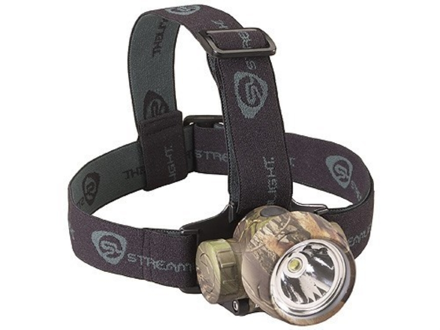 Streamlight Buckmasters Trident HP Headlamp White LED with Batteries (3 AAA Alkaline) P...