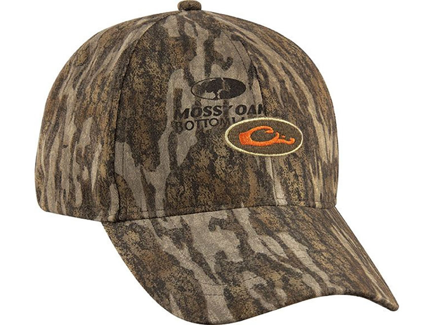 Drake Non-Typical Men's Camo Logo Cap Cotton