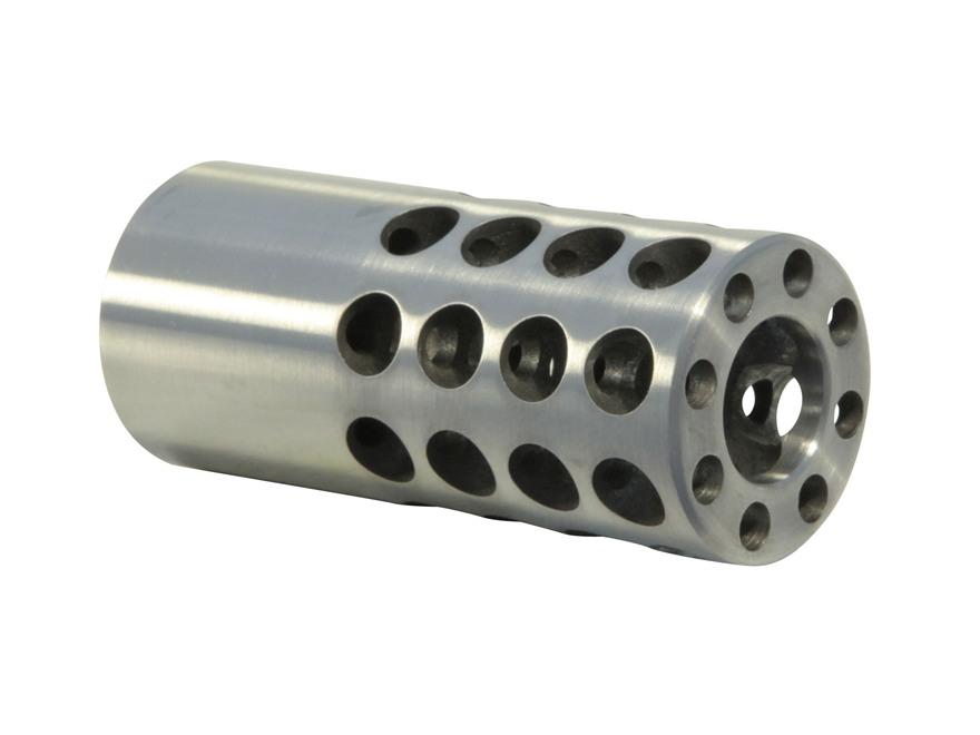 "Vais Muzzle Brake 7/8"" 416 Caliber 5/8""-32 Thread .875"" Outside Diameter x 2"" Length Steel"