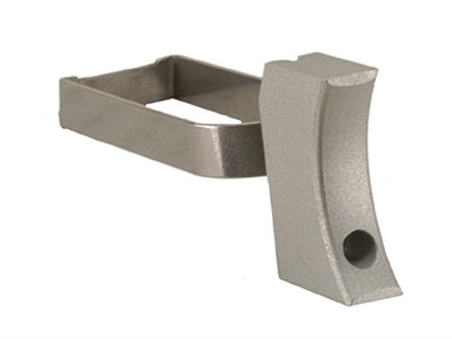 Cylinder & Slide Long Solid Trigger 1911 Aluminum Silver