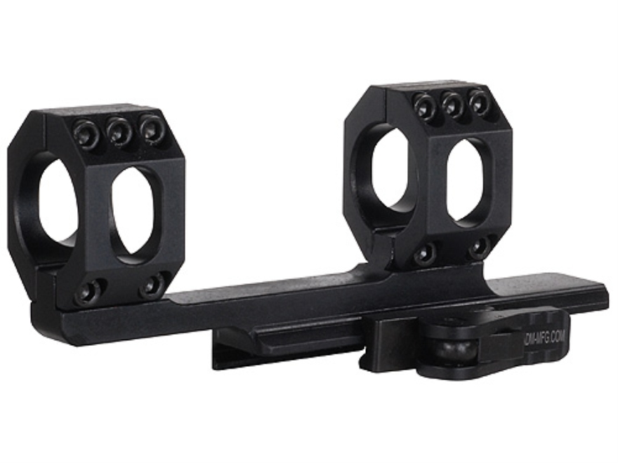 American Defense Scout Quick-Release Extended Scope Mount Picatinny-Style AR-15 Flat-To...