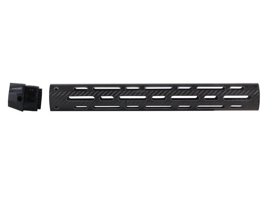 Lancer Systems LCH Free Float Tube Handguard AR-15 Vented Carbon Fiber