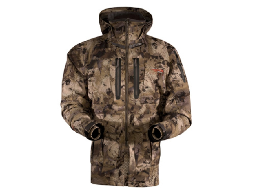 Sitka Gear Men's Pantanal Waterproof Insulated Parka Polyester Gore Optifade Waterfowl ...