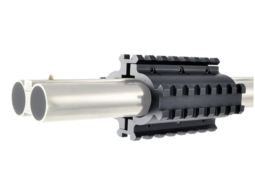LaserLyte Quad-Rail Mount Double Barrel Shotgun Matte