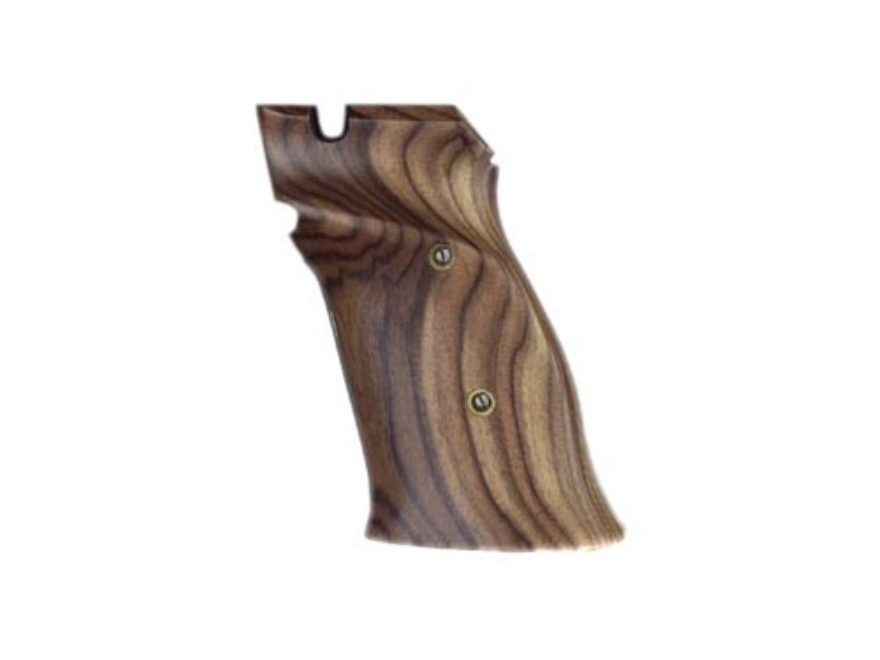 Hogue Fancy Hardwood Grips S&W 41 Right Hand Thumb Rest